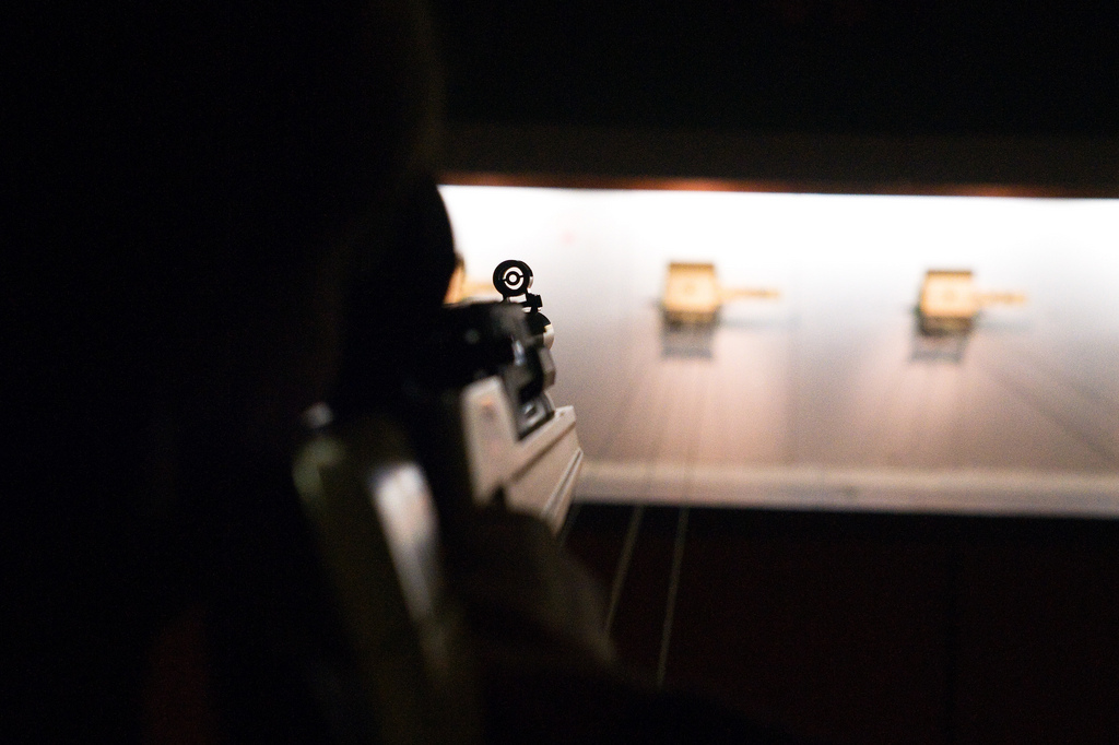 Rundenwettkampf Luftpistole