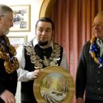 Die drei Schützenkönige 2012