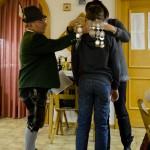 Florian Färbinger erhält die Schützenkette