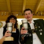 Die beiden Gewinner des Wanderpokals 2012